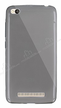 Dafoni Aircraft Xiaomi Redmi 4A Ultra İnce Şeffaf Siyah Silikon Kılıf