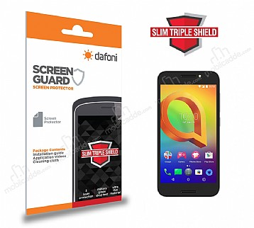 Dafoni Alcatel A3 Slim Triple Shield Ekran Koruyucu