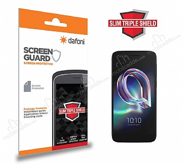 Dafoni Alcatel idol 5 Slim Triple Shield Ekran Koruyucu