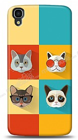 Alcatel OneTouch idol 3 5.5 Four Cats Kılıf