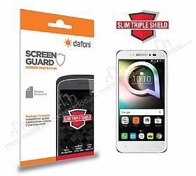 Dafoni Alcatel Shine Lite Slim Triple Shield Ekran Koruyucu
