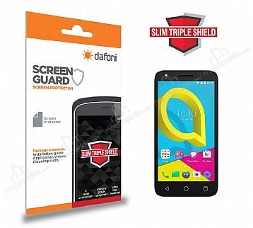 Dafoni Alcatel U5 Slim Triple Shield Ekran Koruyucu