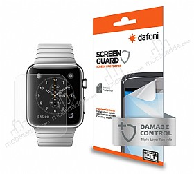 Dafoni Apple Watch 42 mm �n + Arka Darbe Emici Full Ekran Koruyucu Film