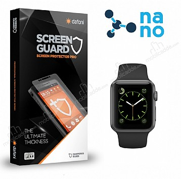 Dafoni Apple Watch / Watch 2 Nano Glass Premium Cam Ekran Koruyucu (38 mm)