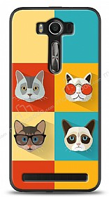Dafoni Asus ZenFone 2 Laser 5 in� Four Cats K�l�f