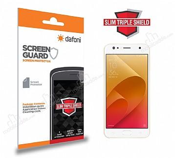 Dafoni Asus ZenFone 4 Selfie ZD553KL Slim Triple Shield Ekran Koruyucu