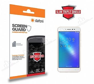 Dafoni Asus Zenfone Live ZB501KL Slim Triple Shield Ekran Koruyucu