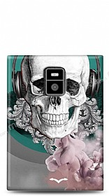 Dafoni BlackBerry Passport Lovely Skull K�l�f