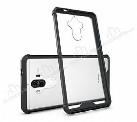 Dafoni Fit Hybrid Huawei Mate 9 Siyah Kılıf