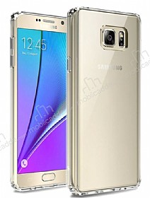 Dafoni Fit Hybrid Samsung Galaxy Note 5 Şeffaf Kılıf
