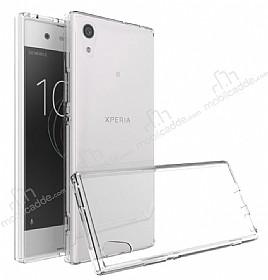 Dafoni Fit Hybrid Sony Xperia XA1 Şeffaf Kılıf
