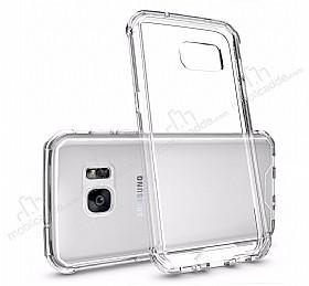 Dafoni Fit Hybrid Samsung Galaxy S7 Edge Şeffaf Kılıf