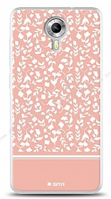 Dafoni General Mobile Android One Pink Flower K�l�f