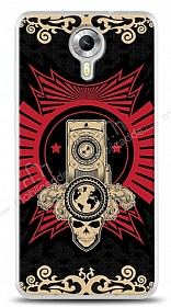 Dafoni General Mobile Android One Skull Nation K�l�f