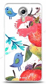 Dafoni General Mobile Android One Water Color Kiss K�l�f