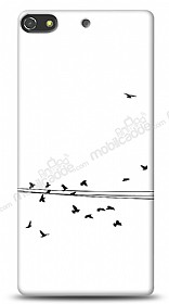 Dafoni General Mobile Discovery Elite Plus Flying Birds K�l�f