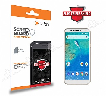 Dafoni General Mobile GM 8 Slim Triple Shield Ekran Koruyucu