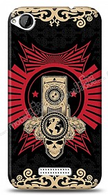 HTC Desire 320 Skull Nation Kılıf