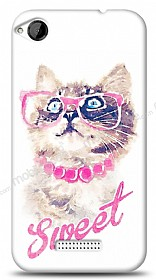 HTC Desire 320 Sweet Cat Kılıf