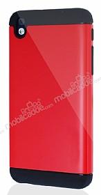 Dafoni HTC Desire 816 Slim Power Ultra Koruma Kırmızı Kılıf