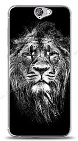 HTC One A9 Black Lion Kılıf