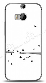 HTC One M8s Flying Birds Kılıf