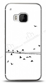 HTC One M9 Flying Birds Kılıf