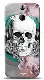 Dafoni HTC One mini 2 Lovely Skull K�l�f