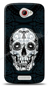 HTC One S Black Skull Kılıf