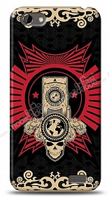 Dafoni HTC One V Skull Nation K�l�f