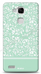 Huawei Ascend Mate 7 Green Flower Kılıf