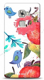 Dafoni Huawei Ascend Mate S Water Color Kiss K�l�f