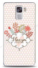 Dafoni Huawei Honor 7 I Love You K�l�f