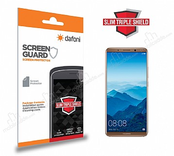 Dafoni Huawei Mate 10 Slim Triple Shield Ekran Koruyucu