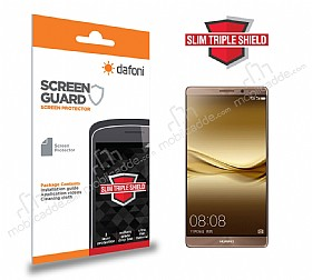 Dafoni Huawei Mate 8 Slim Triple Shield Ekran Koruyucu