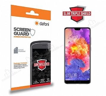 Dafoni Huawei P20 Pro Slim Triple Shield Ekran Koruyucu
