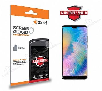 Dafoni Huawei P20 Slim Triple Shield Ekran Koruyucu