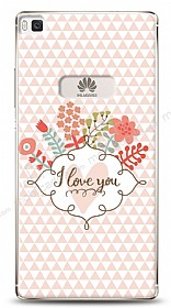Dafoni Huawei P8 I Love You Kılıf
