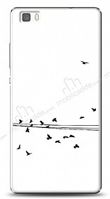 Dafoni Huawei P8 Lite Flying Birds Kılıf