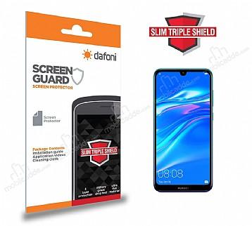 Dafoni Huawei Y7 2019 Slim Triple Shield Ekran Koruyucu