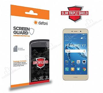 Dafoni Huawei Y7 Slim Triple Shield Ekran Koruyucu