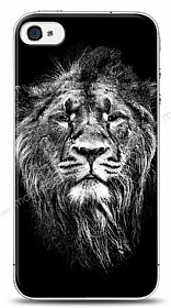 iPhone 4 / 4S Black Lion Kılıf
