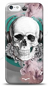 Dafoni iPhone SE / 5 / 5S Lovely Skull K�l�f