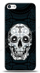Dafoni iPhone 5C Black Skull K�l�f