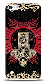 iPhone 5C Skull Nation Kılıf