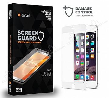 Dafoni iPhone 6 / 6S Curve Darbe Emici Beyaz Ekran Koruyucu Film