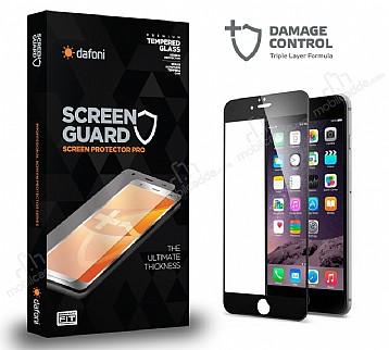 Dafoni iPhone 6 / 6S Curve Darbe Emici Siyah Ekran Koruyucu Film