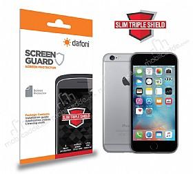 Dafoni iPhone 6 / 6S Slim Triple Shield Ön + Arka Ekran Koruyucu