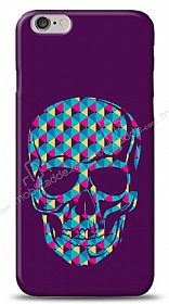 Dafoni iPhone 6 Color Skull Purple K�l�f