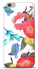 Dafoni iPhone 6 Plus Water Color Kiss K�l�f